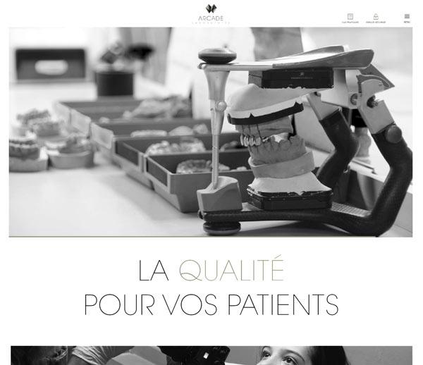 ARCADE Laboratoire - Implantologie