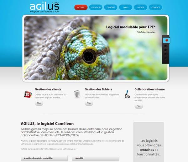 Création site internet à Nice pour AGILUS