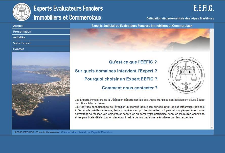 Création site internet Nice pour EEFIC