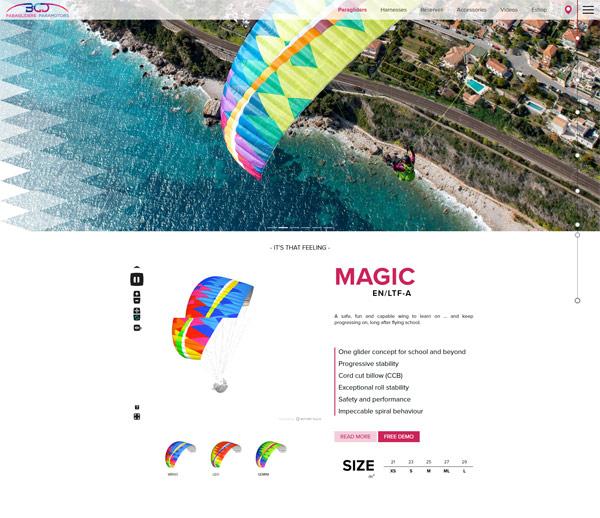 Création site internet au Royaume-Uni pour Bruce Goldsmith Design