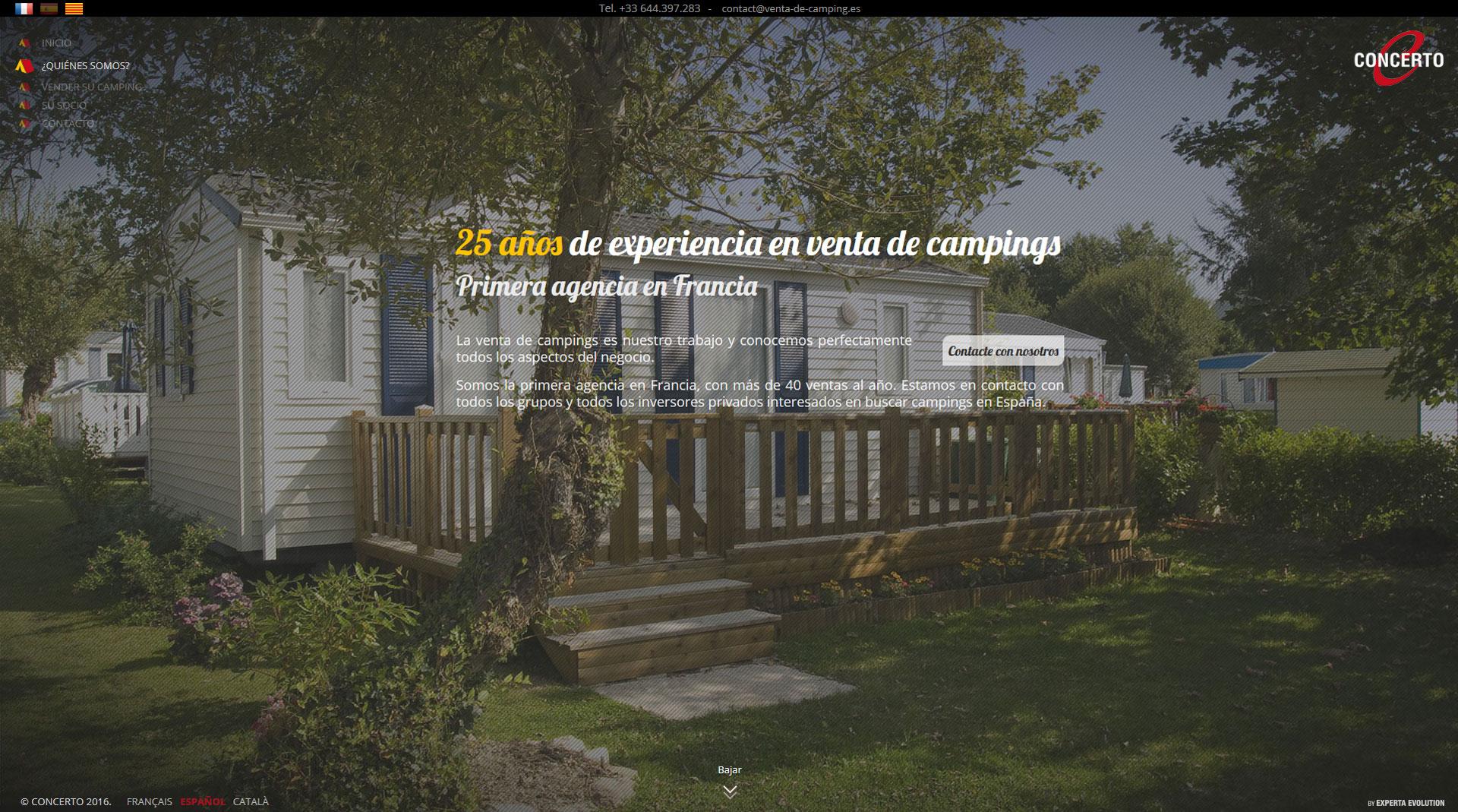 Venta de campings España