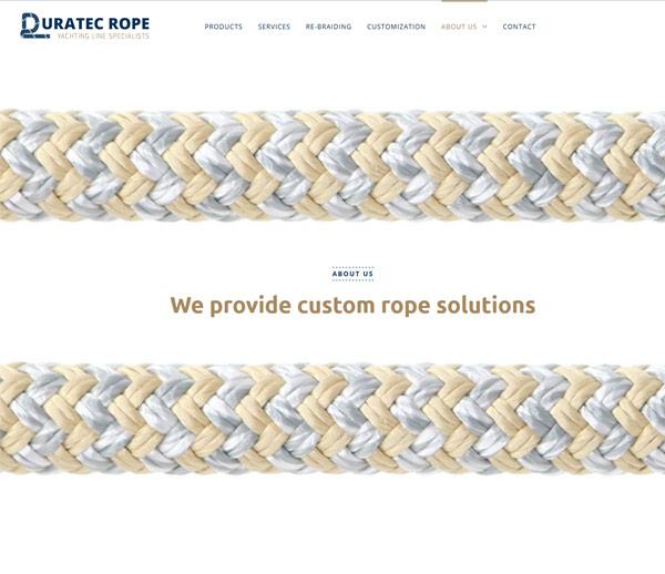 DURATEC ROPE - Corderie Majorque