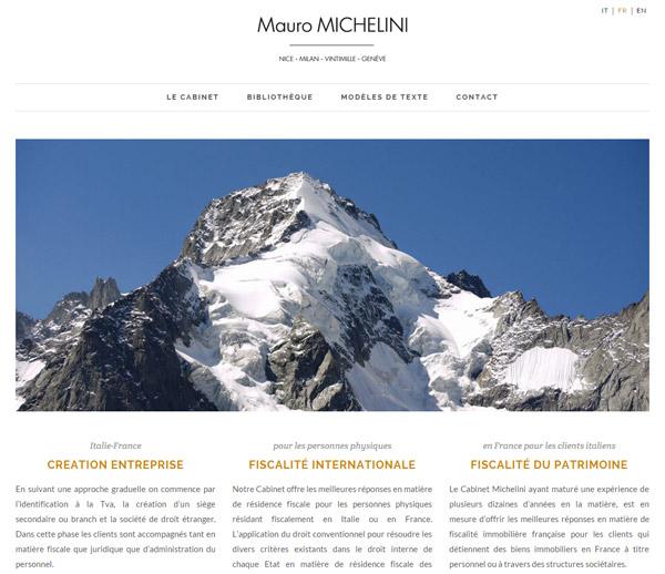 Référencement Nice pour Cabinet Mauro MICHELINI