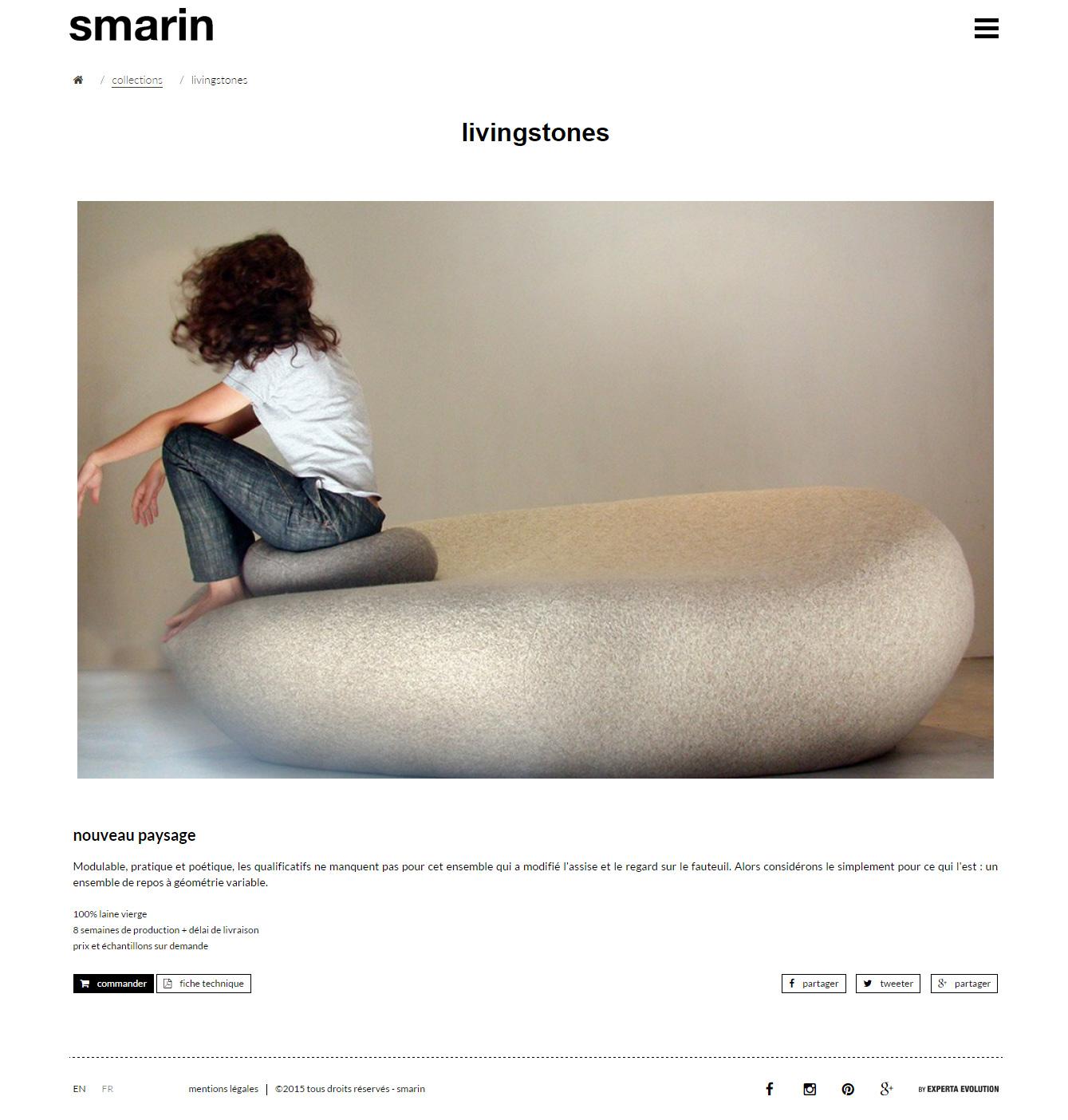 Création site internet à Nice pour SMARIN Design