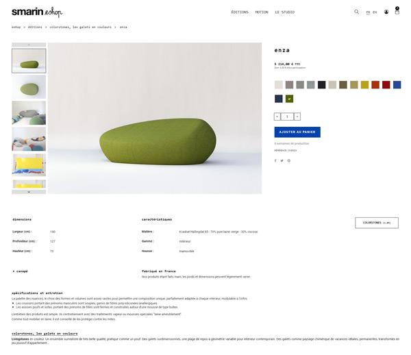Développement site internet à Nice pour SMARIN